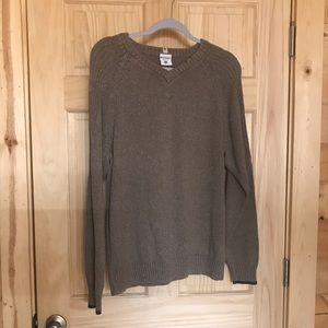 💥 men's xl Columbia sweater fits like a LARGE